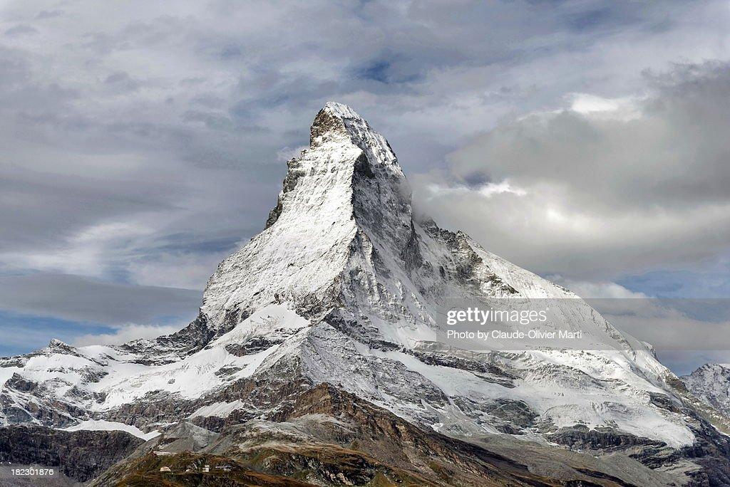 Le Cervin / Matterhorn 4478m : Stock Photo
