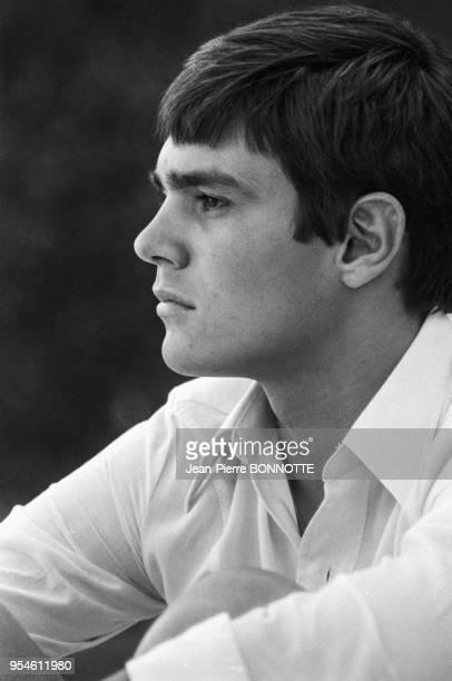 Le champion de natation Alain Mosconi en août 1968 à SaintTropez France