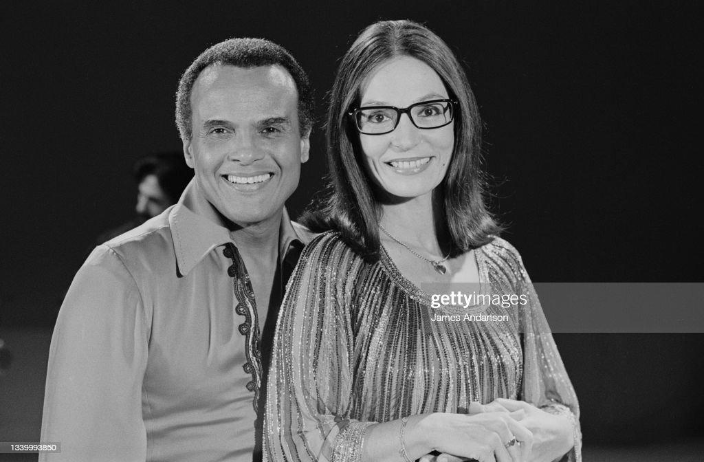 Harry Belafonte et Nana Mouskouri : Photo d'actualité
