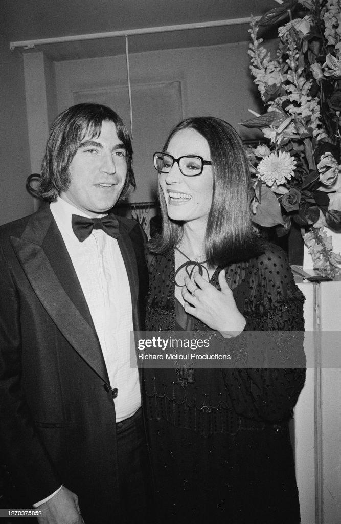 Serge Lama et Nana Mouskouri : Photo d'actualité