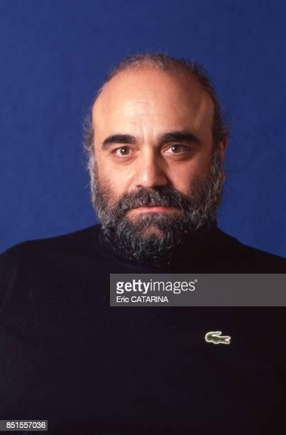 Le chanteur grec Demis Roussos à Béziers en janvier 1990 France