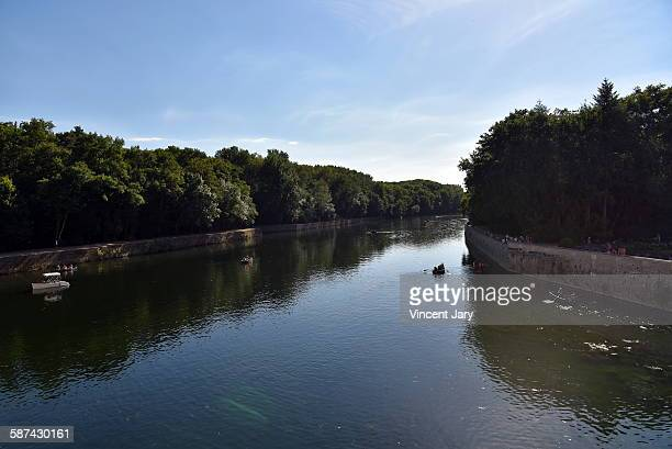 le cher river in france - sologne stock photos and pictures