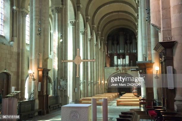 Le choeur de la cathedrale SaintApollinaire a Valence en France le 19 fevrier 2014