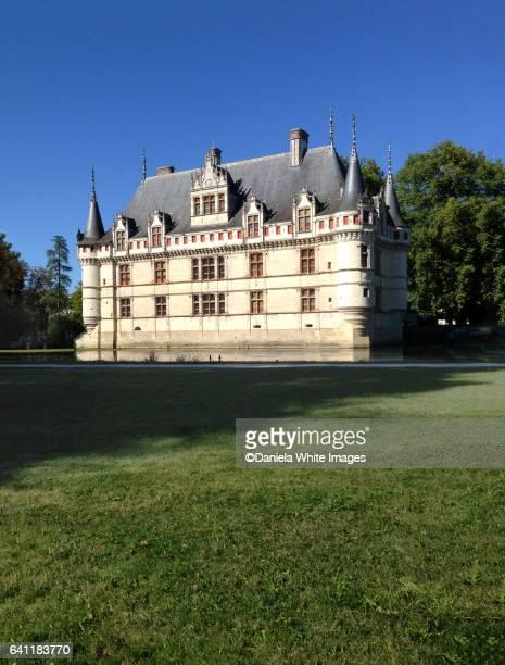 Le château d'Azay-le-Rideau,Indre-et-Loire, France