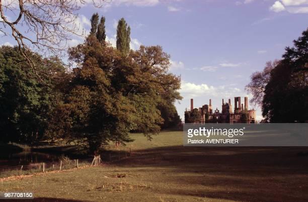 Le château de Randan, Puy-de-Dôme, le 30 avril 1999, France.