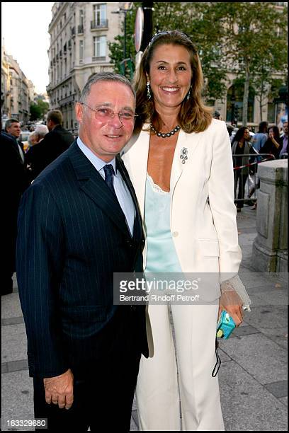 Le Comte Philippe De Nicolay and Pia De Brantes at the Gala Evening In Paris In Aid Of The Pompidou Foundation