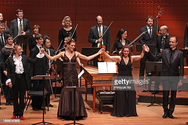 Le Concert d'Astree performing in allHandel program as part of White Light Festival at Alice Tully Hall on Saturday night October 26 2013This...