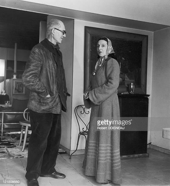 Le Corbusier And Yvonne Le Corbusier