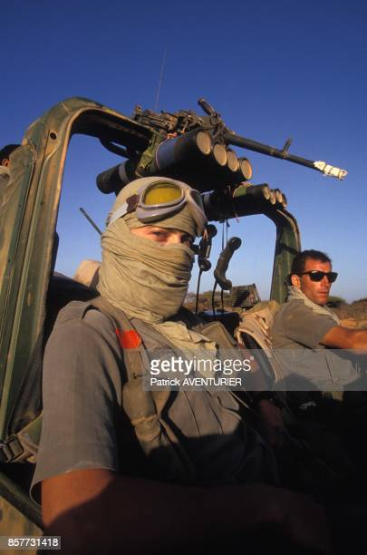 Le COS Commandement des operations speciales lors de l'operation 'Restore Hope' en decembre 1992 en Somalie