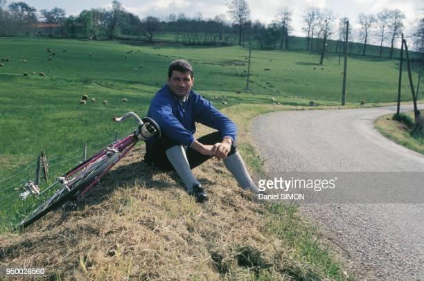 Le coureur cycliste Raymond Poulidor circa 1970 France