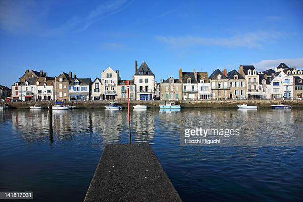 le croisic, loire-atlantique, brittany, france - loire atlantique stock pictures, royalty-free photos & images
