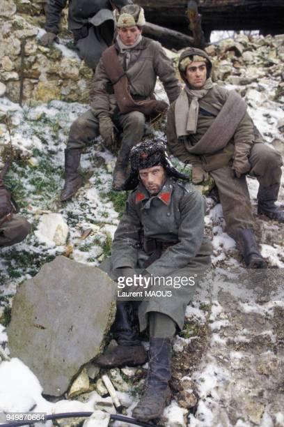Le danseur argentin Jorge Donn sur le tournage du film de Claude Lelouch 'Les uns et les autres' en 1981, en France.