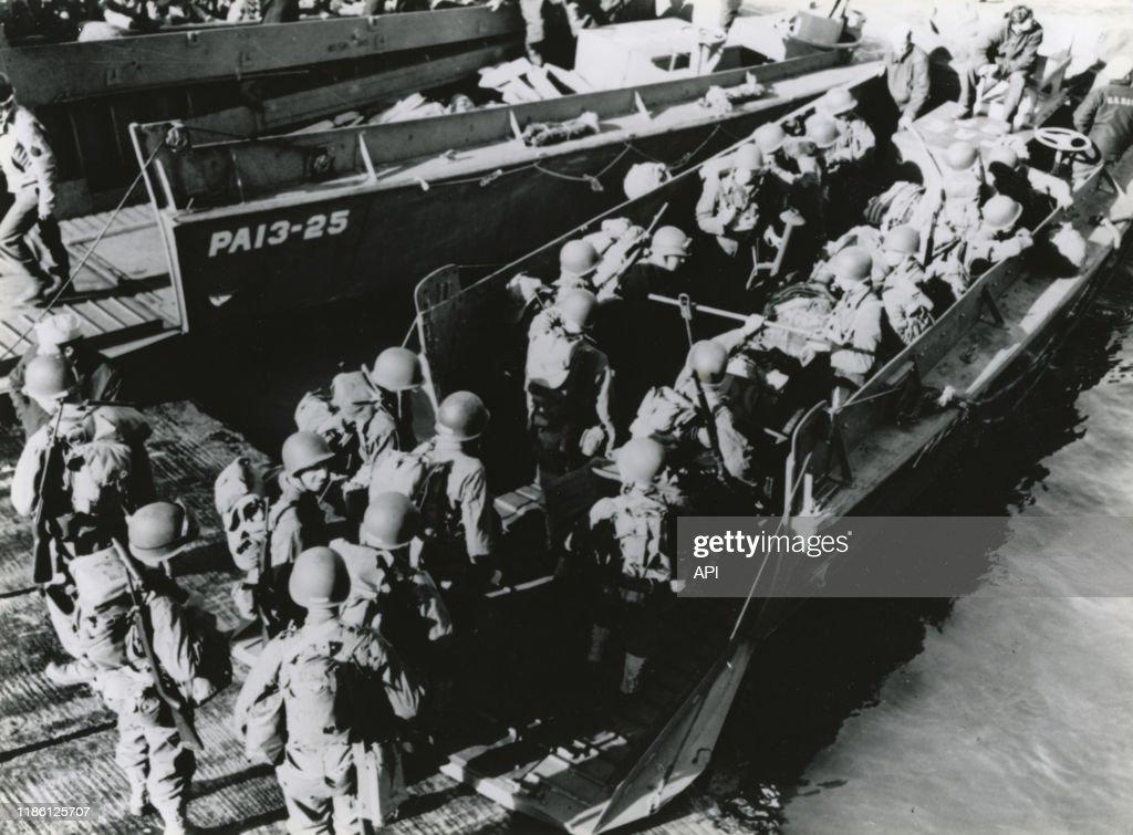 Le Debarquement En Normandie Le 6 Juin 1945 France News Photo Getty Images
