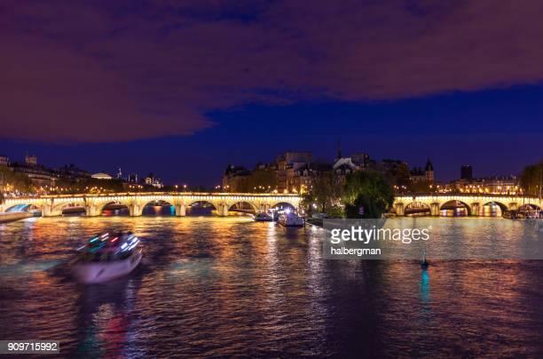 Île de la Cité, Paris at Night
