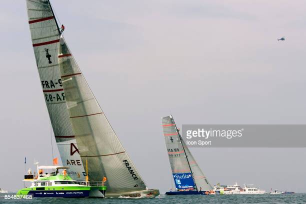 Le Depart - Areva Challenge / +39 Challenge - - Round Robin 1 - Louis Vuitton Cup 2007 - Valence -