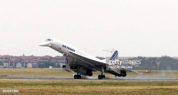 Le dernier vol du quatrième Concorde de la flotte d'Air France baptisé 'Fox Charlie' s'est achevé le 27 juin 2003 lorsque les roues de l'appareil se...