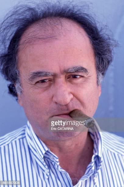 Le dessinateur Georges Wolinski à Sète en juin 1989 France