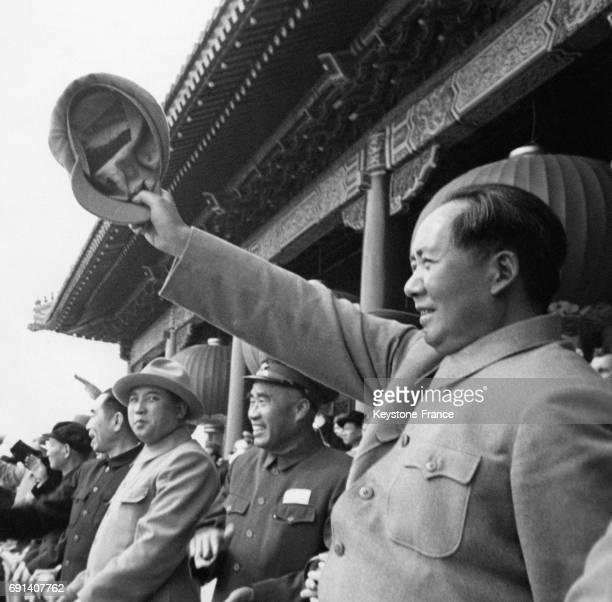 Le dirigeant de la République Populaire de Chine Mao Zedong