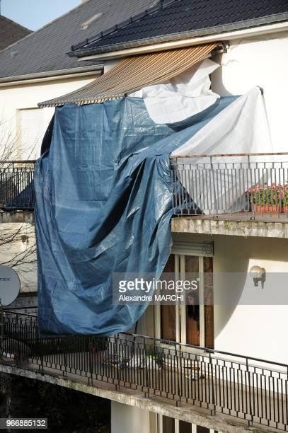 Le drame s'est deroule sur le balcon de la victime au 2eme etage. Jean-Marie Demange, depute UMP de la 9e circonscription de la Moselle depuis 1986...