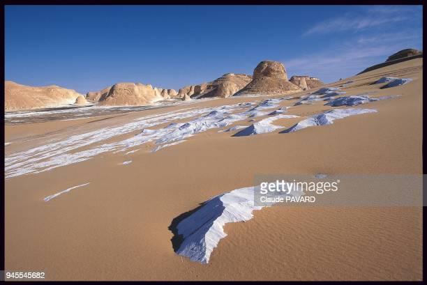Le Dsert blanc dans le dsert libyque Egypte