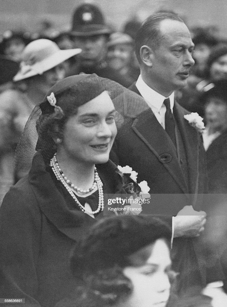 Mariage De La Soeur De La Duchesse De Gloucester : News Photo