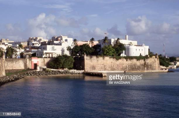 Le fort San Felipe del Morro à San Juan; en janvier 1994, Porto Rico.