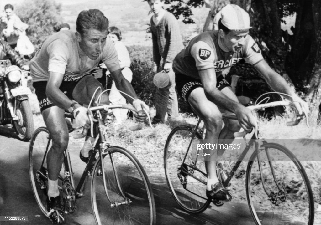 TDF-RETRO-100ANS-ANQUETIL-POULIDOR : News Photo