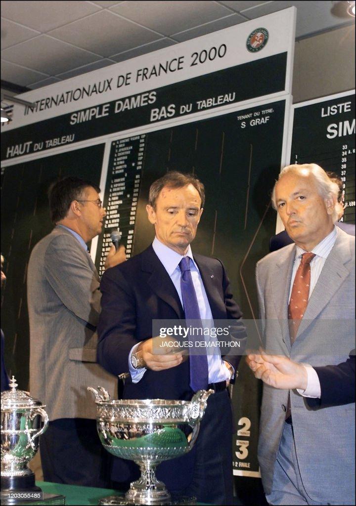 TENNIS-ROLAND-GARROS : News Photo