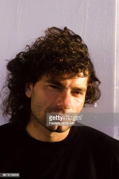 Le gardien de but Joël Bats à Paris le 18 janvier 1987 France