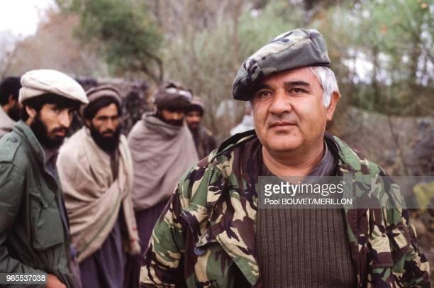 Le général Abdul Rahim Wardak pendant la bataille de Djelalabad en mars 1989 Afghanistan
