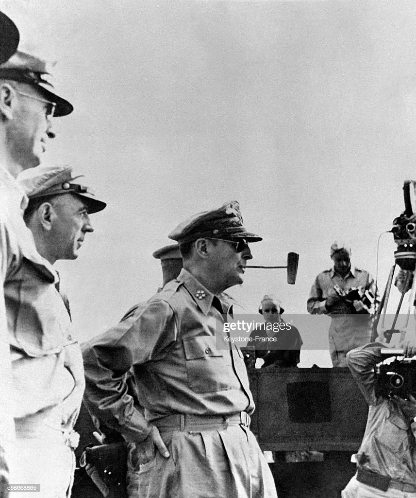 Douglas MacArthur : News Photo