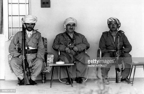 Le général Moustapha Barzani, leader kurde.