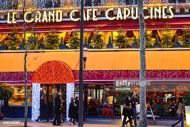 Grand Cafe Capucines Stock Photos and Pictures | Getty Images