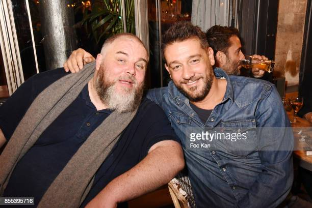 Le Grand Seigneur Editor in chief Olivier Malnuit and Titoff attend the Apero Gouter Cocktail Hosted by Le Grand Seigneur Magazine at Bistrot...