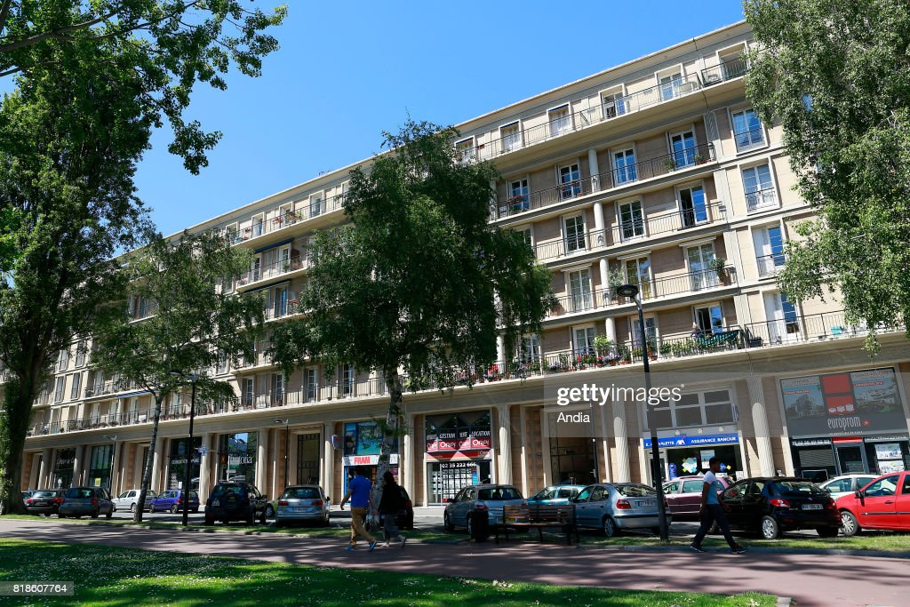 Elegant Le Havre (Normandy Region, North Western France): Real Estate, Buildings In