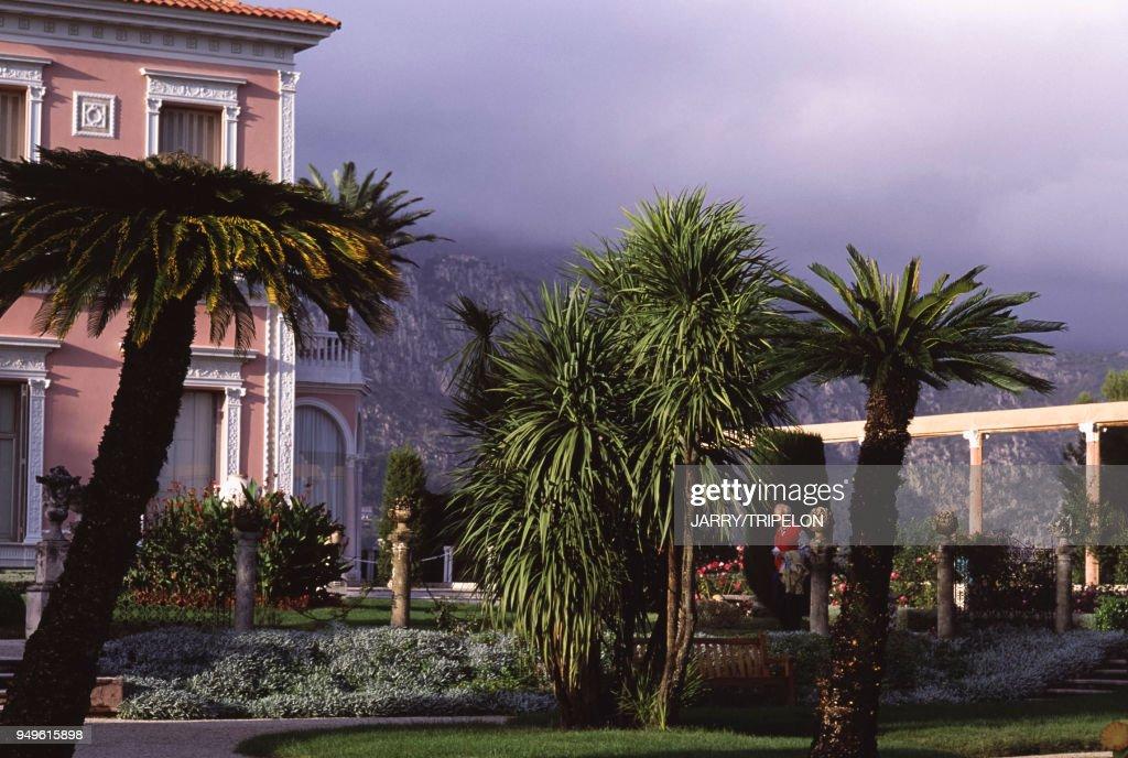 Le jardin de la villa Ephrussi de Rothschild à Saint-Jean ...