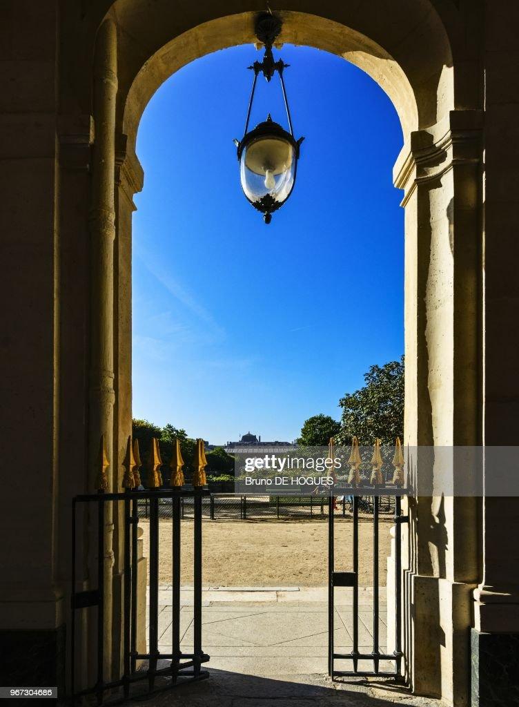 Palais Royal A Paris, France : News Photo