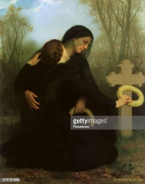 Le Jour Des Morts All Saints Day Bouguereau AdolpheWilliam 1859