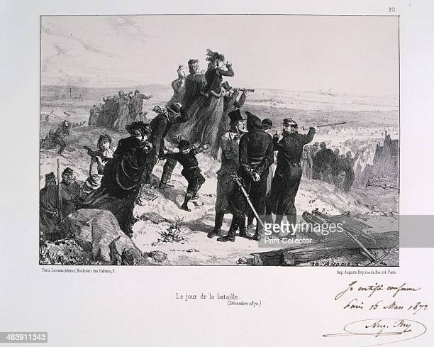 'Le Jour du Bataille' Siege of Paris FrancoPrussian War 1870 After the disastrous defeat of the French at Sedan and the capture of Napoleon III the...