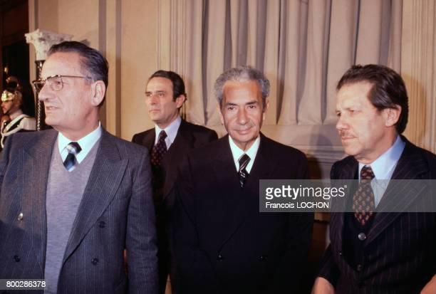 Le juriste et homme politique Aldo Moro dans les années 1970 en Italie