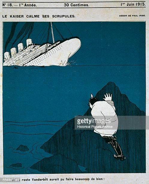 Le Kaiser Calme ses Scrupules Magazine Illustration