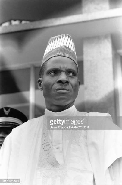 Le Lieutenant-Colonel Seyni Kountché, Président du Conseil militaire suprême de la République du Niger, lors du quinzième sommet de l'Organisation de...