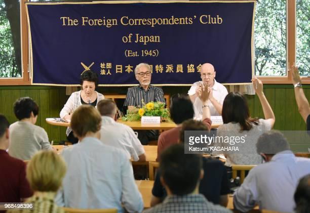 Le mangaka Hayao Miyazaki qui a reçu un Oscar d'honneur pour son oeuvre a critiqué le changement de politique de sécurité du Japon par le premier...