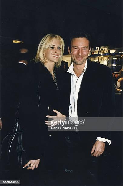 Le mannequin Alain Gossuin lors de la cérémonie des Trophées de la mode le 21 novembre 1996 à Paris France