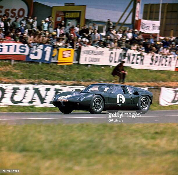 Le Mans 16th June 1963 Richard Attwood/David Hobbs Lola Mk6 GT Ford retired