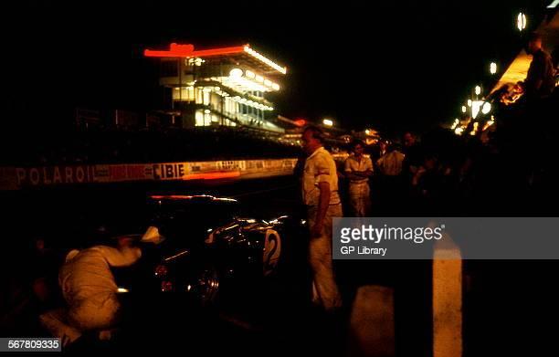 Le Mans 24 Hours 19th June 1966 Bruce McLaren/Chris Amon Ford Mk II race winner