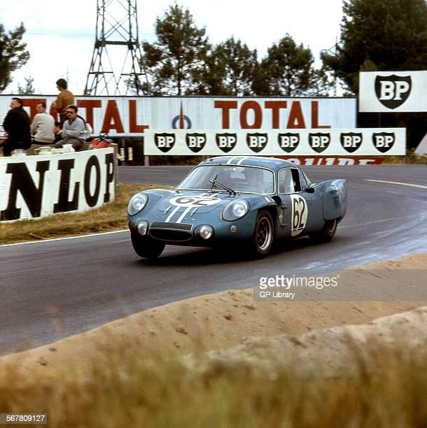 Le Mans 24 Hours 19th June 1966 Car no 62 Henri Grandsire/Leo Cella Alpine A210 finished 9th