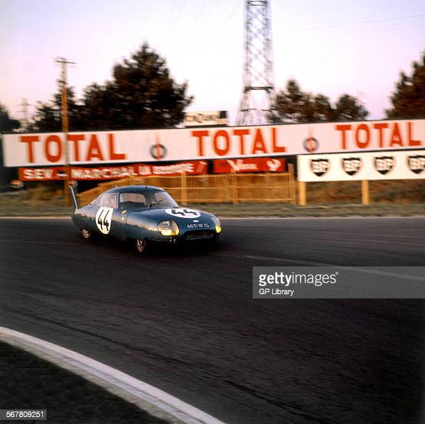 Le Mans 24 Hours 22nd June 1964 Andre Guilhaudin/Alain Bertaut CD LM 64 Panhard retired