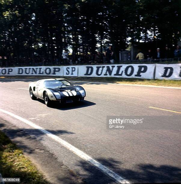 Le Mans 24 Hours 22nd June 1964 Richie Ginther/Masten Gregory Ford GT40 retired