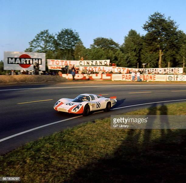 Le Mans 24 Hours 29th September 1968 Rico Steinemann/Dieter Spoerry Porsche 907 finished 2nd